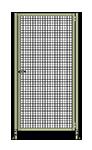 D6 - Hinge on Right - Robust Frame, W/O Header