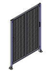 E4 - Double Panel with Legs