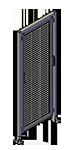 E5 - Single Panel with Legs & Header