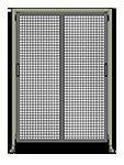 E6 - Double Panel W/ Legs & Header