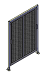 E6 - Double Panel with Legs & Header