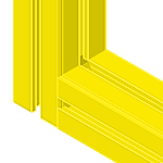 Powder Coated Extrusion Available on Request