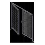 J1 -Single Panel Doors W / Header