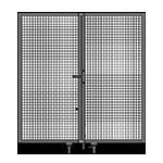 J2 - Single Panel Doors - No Frame or Header
