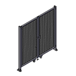 J4 - Single Panel Doors Robust Frame W/O Header