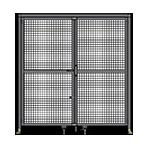 J5 - Double Panel Doors W/ Header