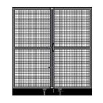 J6 - Double Panel Doors W/O Frame or Header