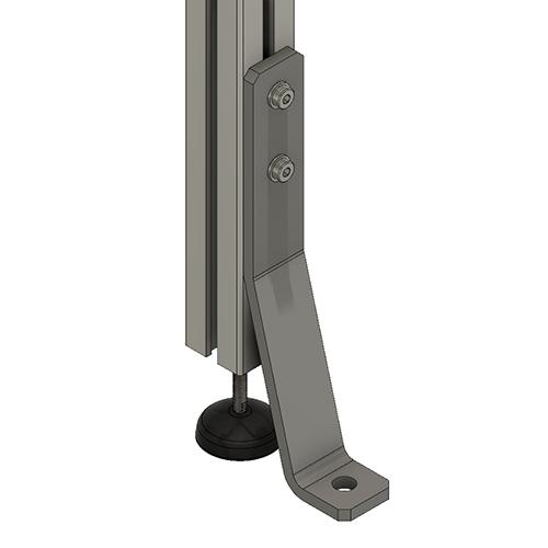 P - 2 Inch Pad and Angle Bar
