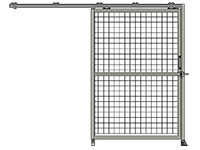 H1 -  Single Panel - Slides Left
