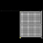 H3 - Double Panel - Slides Left