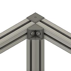 A - 45 Degree Angle on Top and Bottom