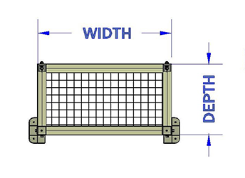 Width of Guard (mm)